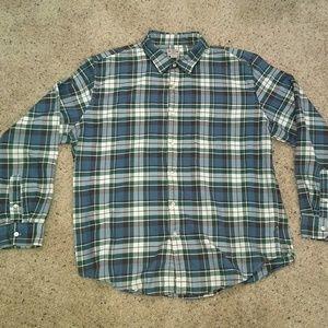 Men's J. Crew long sleeve shirt size XXL